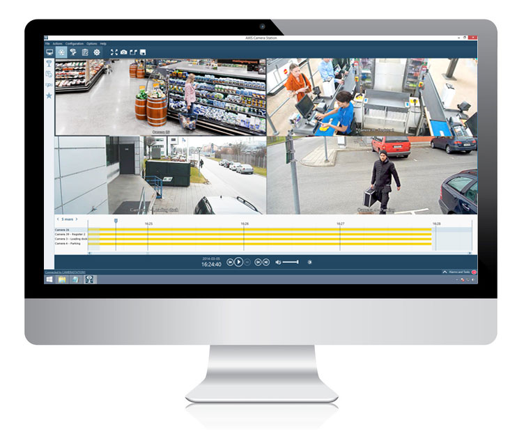 Video Management Software AXIS Camera Station - Data Components K+S GmbH